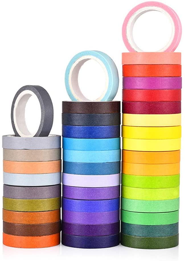 Ruban coloré pour décoration papier toilette