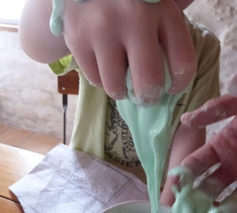 recette du slime sans borax DIY