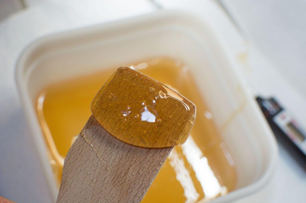 cire orientale à base de sucre - tuto facile