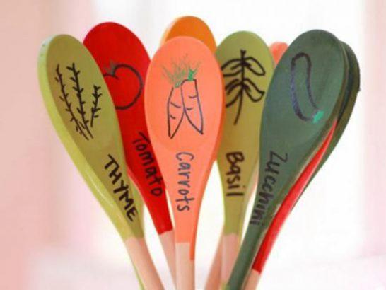 indicateur de légumes plein de couleurs
