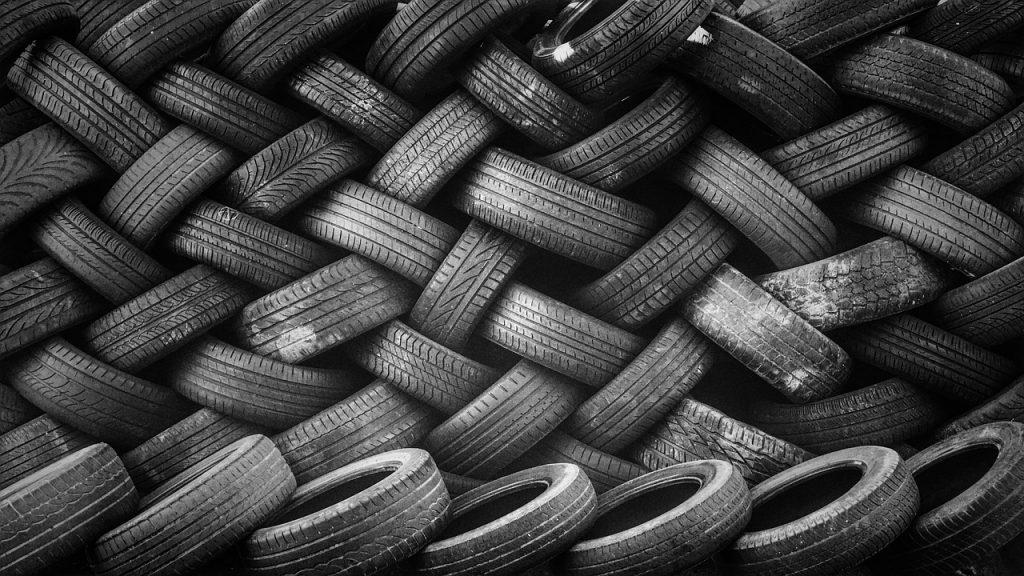 recycler vieux pneus