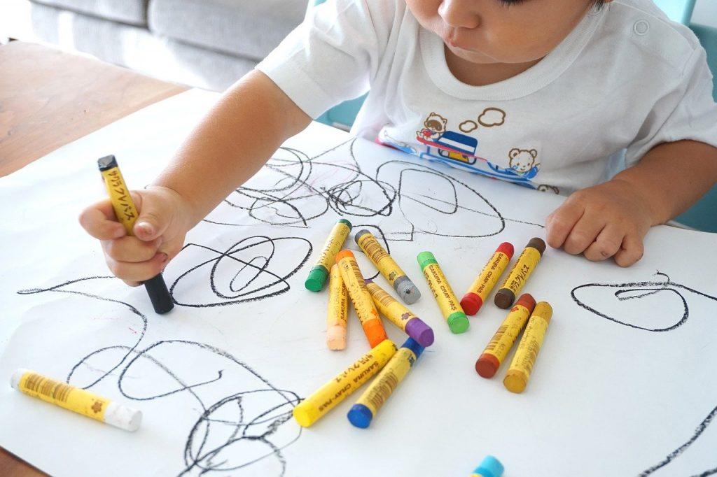 activité enfant devine le dessin