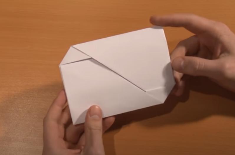 diy enveloppe en papier
