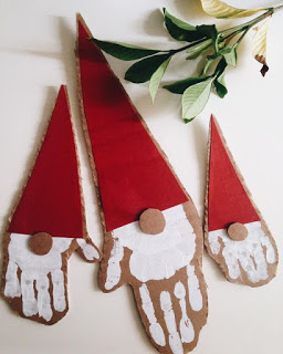 décoration gnome de noel